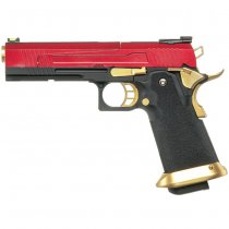 Armorer Works 5.1 Hi-Speed Gas Blow Back Pistol HX1004 - Red