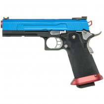 Armorer Works 5.1 Hi-Speed Gas Blow Back Pistol HX1005 - Blue