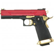 Armorer Works 5.1 Standard Gas Blow Back Pistol HX1104 - Red