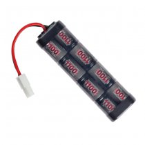 ASG 9.6V 1100mAh NiMH Battery - Small Type