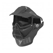 Commander Full Face Mask - Black