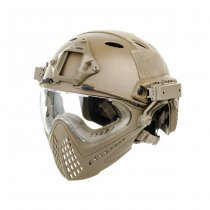 FAST Helmet & Mask Size L - Coyote