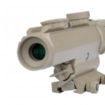 Aim-O 1-3x Tactical Red Dot Scope - Dark Earth