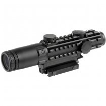Aim-O 1-3x Tactical Red Dot Scope - Black