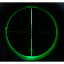 Aim-O 8-32x50E SF Red & Green Reticle Rifle Scope - Black