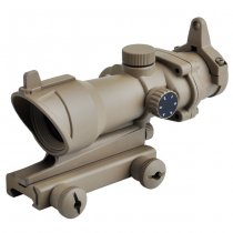 Aim-O ACOG 1x32 Red & Green Dot Sight - Dark Earth