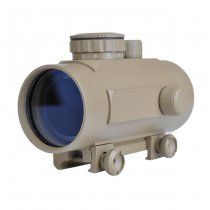 Aim-O 1x40 Red & Green Dot Sight - Dark Earth