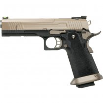 Armorer Works 5.1 Hi-Speed Gas Blow Back Pistol HX1003 - Tan