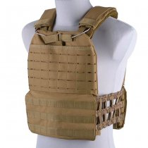 Releasable Laser Cut Plate Carrier - Tan