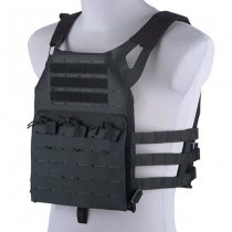 Jump Laser Cut Plate Carrier - Black