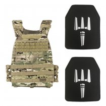 5.11 TacTec Plate Carrier & Level IV Single Curve Stand Alone Plate Set