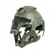 Iron Warrior Helmet - Olive