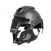 Iron Warrior Helmet - Black