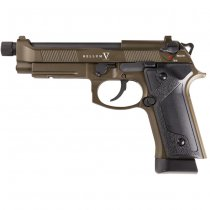 Secutor Bellum V Co2 Blow Back Pistol - Bronze
