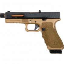 Secutor Gladius 17 Co2 Blow Back Pistol - Bronze
