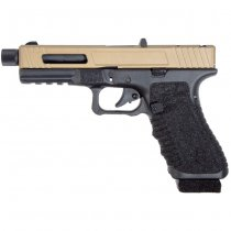 Secutor Gladius 17 Acta Non Verba Co2 Blow Back Pistol - Bronze