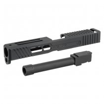 DYTAC Marui G17 SLR x JW Aluminium Slide & Threaded Barrel - Black