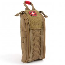 ITS Tactical ETA Trauma Kit Pouch Tallboy - Coyote