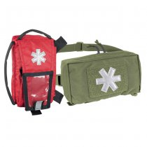 Helikon Modular Individual Med Kit Pouch - Olive