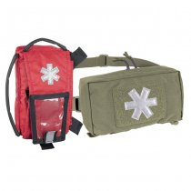 Helikon Modular Individual Med Kit Pouch - Adaptive Green