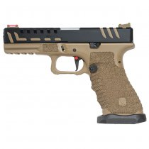 APS Scorpion D-Mod Co2 Blow Back Pistol - Desert