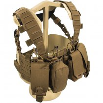 Direct Action Hurricane Hybrid Chest Rig - Coyote Brown