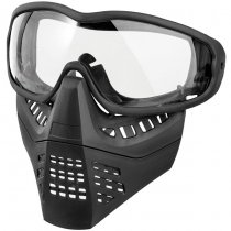 Ant Type Clear Lens Mask - Black