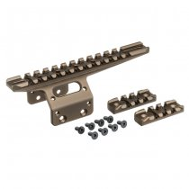Action Army T10 Front Rail - Dark Earth