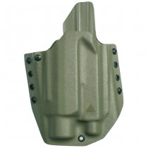 Direct Action G17 OWB Light Holster Full Kydex - Olive Drab
