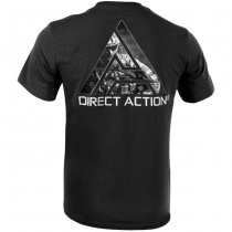 Direct Action T-Shirt Logo D.A. 3 - Black L