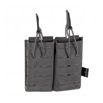 Invader Gear 5.56 Double Direct Action Gen II Mag Pouch - Wolf Grey