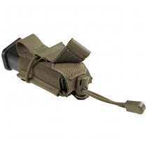 Clawgear 9mm Backward Flap Mag Pouch - RAL7013