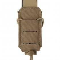 Clawgear 9mm Backward Flap Mag Pouch - Coyote
