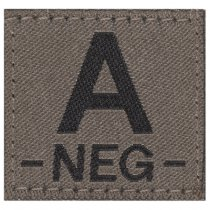 Clawgear A Neg Bloodgroup Patch - RAL7013