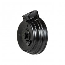 LCT AK 2000rds Steel Electric Drum Magazine - Black
