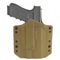 Warrior ARES Kydex Holster Glock 17/19 & X400 - Coyote