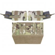 Warrior Horizontal Velcro Mag Pouch - Multicam