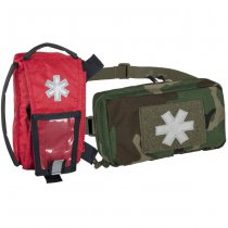 Helikon Modular Individual Med Kit Pouch - Woodland