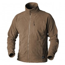 Helikon Alpha Grid Fleece Jacket - Coyote