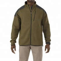 5.11 Tactical Full Zip Sweater - Field Green