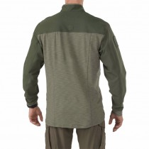 5.11 Rapid Shirt Quarter Zip - TDU Green 1