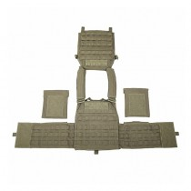 Warrior DCS Plate Carrier Base - Ranger Green 2
