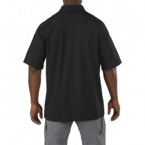 5.11 Rapid Performance Short Sleeve Polo - Black 1