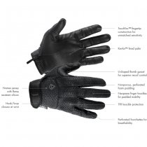First Tactical Slash & Flash Hard Knuckle Glove - Black - S