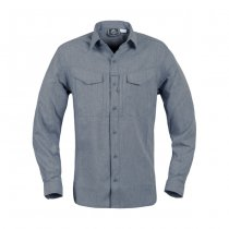 Helikon Defender Mk2 Gentleman Shirt - Melange Blue - 2XL
