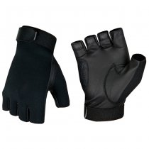Invader Gear Half Finger Shooting Gloves - Black - M