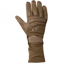 Outdoor Research Firemark Gauntlet Gloves - Coyote - M