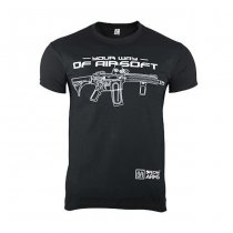 Specna Arms Shirt - Your Way of Airsoft 02 - Black - L