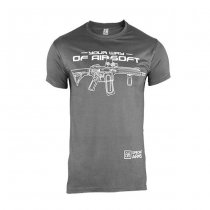 Specna Arms Shirt - Your Way of Airsoft 02 - Grey/White - XL