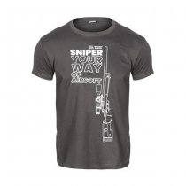 Specna Arms Shirt - Your Way of Airsoft 03 - Grey / White - M